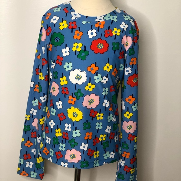 Hanna Andersson Other - Hanna Andersson girls long sleeve floral rashguard